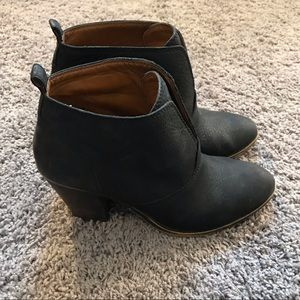 Lucky Brand Black Ankle Boots Size 9